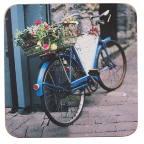 Creative Tops Vintage Bike Set of Mats & Coasters